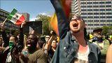 Oszlatás egy portlandi tüntetésen