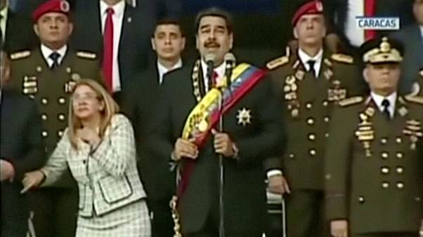 Nicolas Maduro 'survived assassination attempt involving exploding drones'