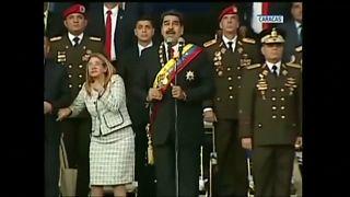 Explosion während Maduro-Rede