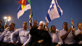 Mass protest in Tel Aviv against new nationality law