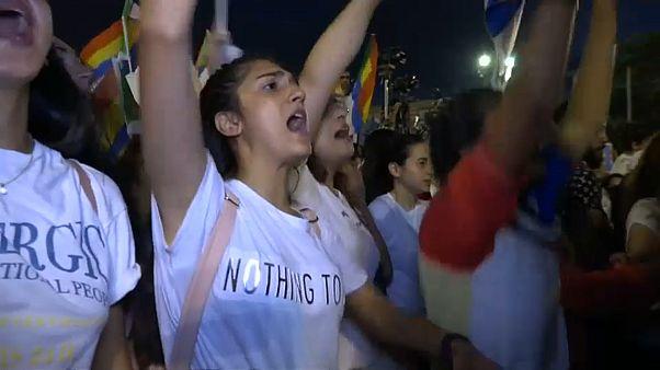 Zehntausende Drusen gegen das Nationalstaatsgesetz