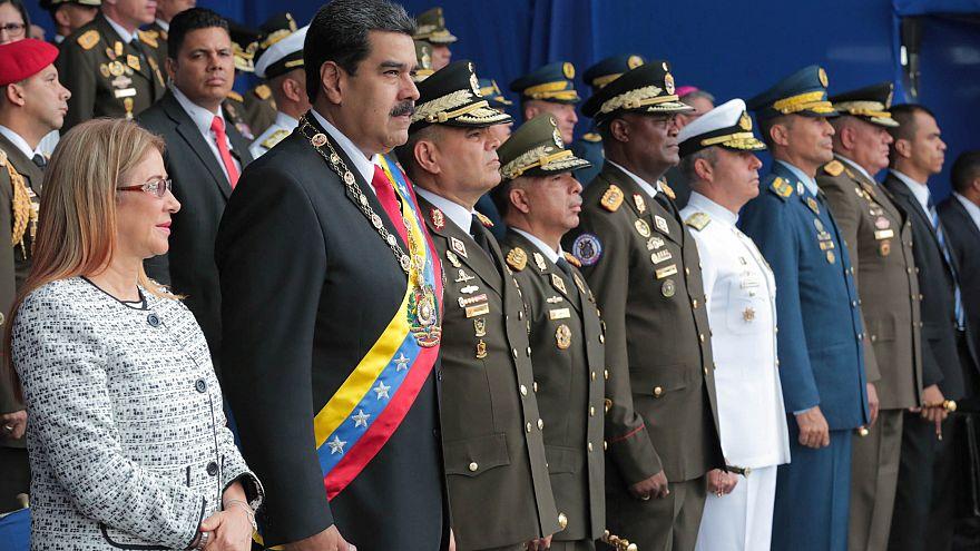 الرئيس الفنزويلي ينجو من محاولة اغتيال ويتهم كولومبيا بتدبيرها