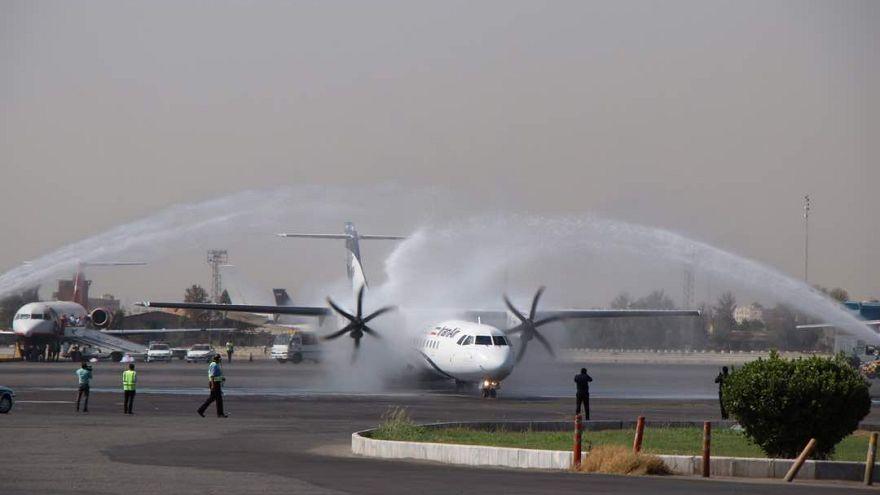 تحویل هواپیماهای ای.تی.آر جدید به ایران