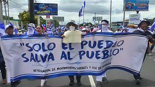 Manifestações dos médicos agravam tensão no Nicarágua
