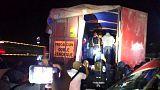 العثور على 150 مهاجرا من أمريكا الوسطى في صندوق شاحنة