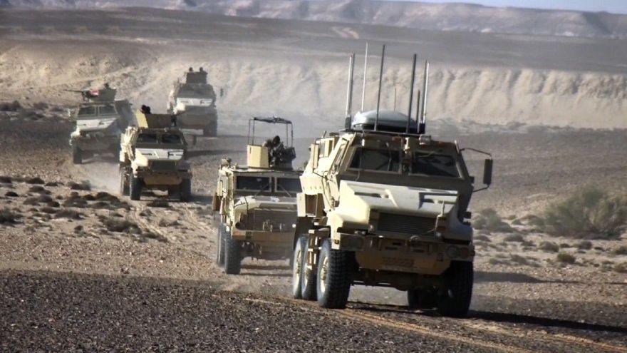 الجيش المصري يعلن مقتل 52 مسلحا في مداهمة بشمالي سيناء