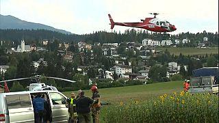 Suisse : les 20 passagers de l'avion militaire de collection qui s'est écrasé samedi sont tous morts