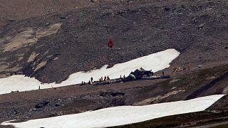 Swiss vintage plane crash 'kills all 20 people on board'