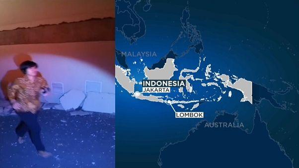Halálos földrengés Indonéziában - csaknem 40-en életüket vesztették, 50-en megsérültek