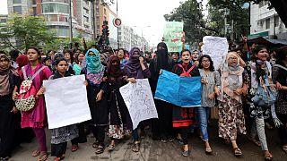 بنگلادش؛ درگیری میان پلیس و تظاهرکنندگان شدت گرفت