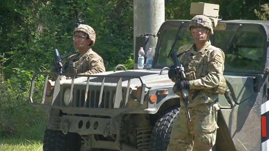 Военные учения или прикрытие?