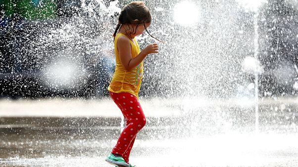Fotoğraflarla Avrupa'da sıcak hava rekoru