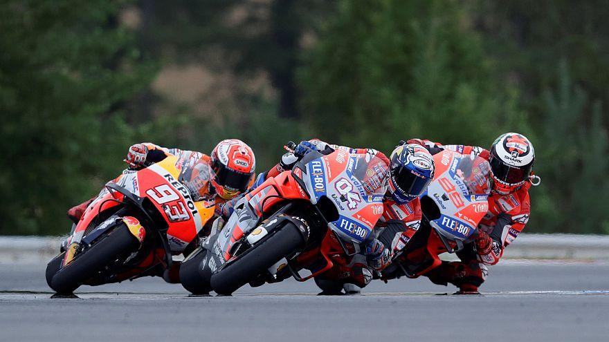 Andrea Dovizioso wins Czech MotoGP thriller