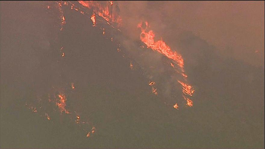 Португалия в огненной стихии
