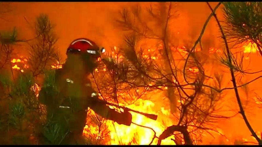Bei um die 43°C: Waldbrände in Portugal und Spanien außer Kontrolle