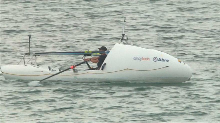 Novo recorde de travessia do Atlântico a remo