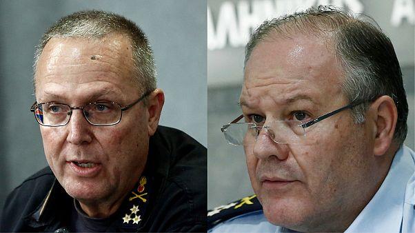 Οι αποπεμφθέντες αρχηγοί Πυροσβεστικής και Αστυνομίας