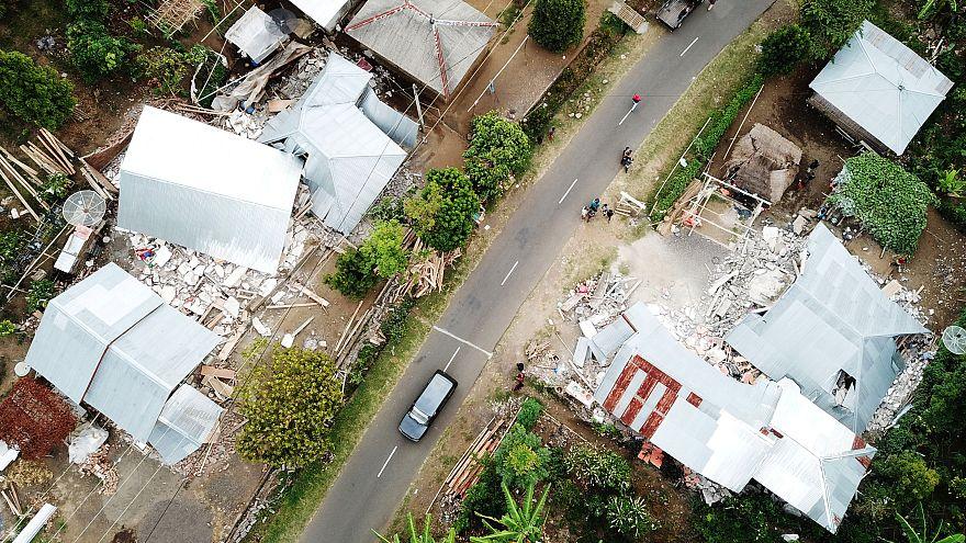 Землетрясение в Индонезии