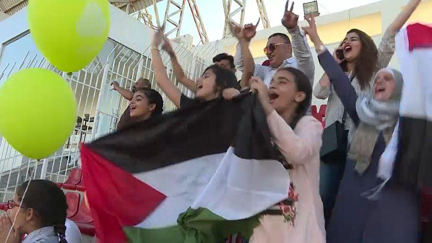 ثلاثة أهداف وأجواء كرنفاليه في زيارة المنتخب العراقي لنظيره الفلسطيني