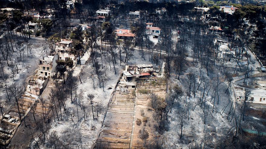 Greece replaces emergency chiefs over deadly wildfires