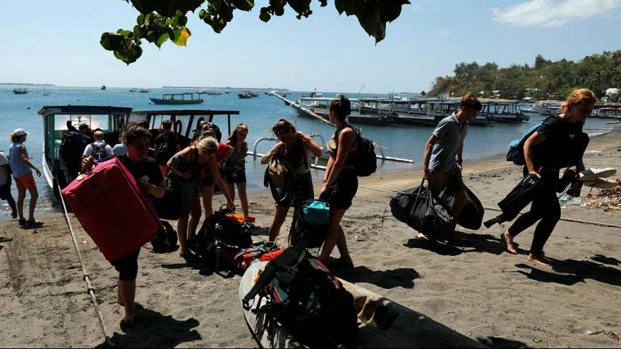 Lombok island - Foreign tourists
