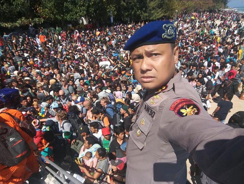 Polícia Marítima da Indonésia via REUTERS