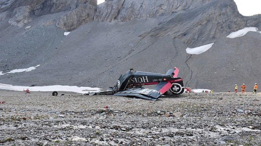 Flugzeugabsturz: Schweizer Behörden suchen nach der Ursache