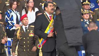 Regierung wähnt Rebellen hinter Anschlag auf Präsident Maduro