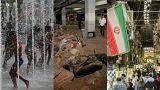 Live: Europe buckles under heatwave, Indonesia deadly quake, Iran braces for sanctions