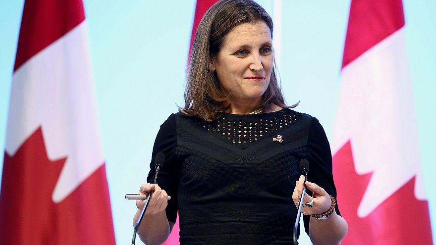 Kanada Dışişleri Bakanı Chrystia Freeland