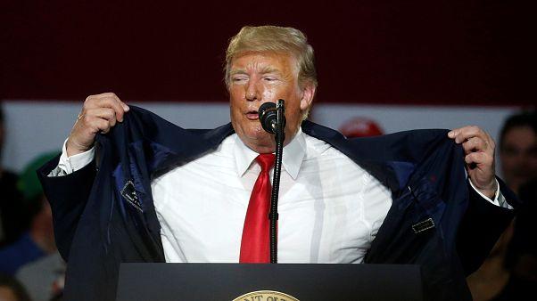 Trump elismerte: fia politikai célból találkozott az oroszokkal