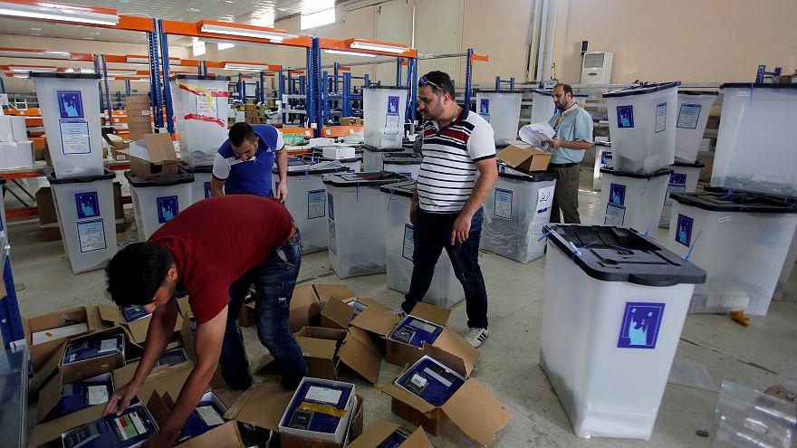 Irak'ta oyların elle sayımı tamamlandı