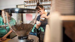 A véradást is segíti a Vöröskereszt kávézója