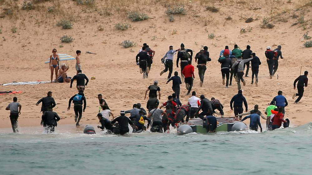 Did Morocco let more migrants make dangerous Spain crossing to get a good deal with EU?