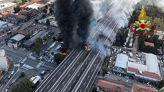Explosion d'un camion près de Bologne, en Italie : 1 mort, 68 blessés