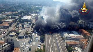 Explosion bei Bologna: 2 Tote, 60 Verletzte
