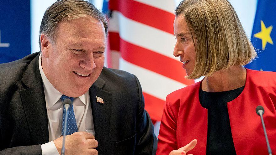 بروكسل تتعهّد بحماية الاتفاق النووي الإيراني وإسرائيل والسعودية ترحبان بعقوبات واشنطن