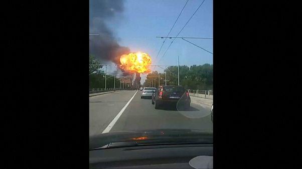 Explosion auf Autobahn: Tote und Verletzte in Bologna