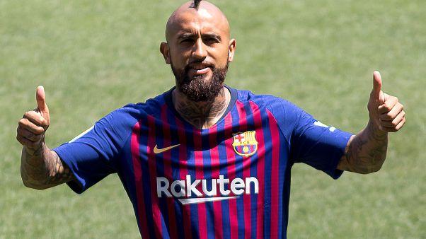 Arturo Vidal signe au Barça