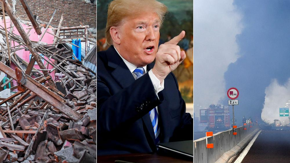 Live updates: Iran sanctions, earthquake aftermath and Bologna crash
