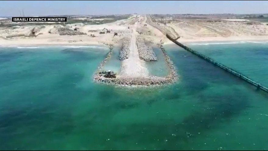 Израиль строит подводную стену
