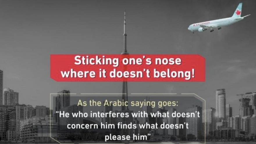 """Foto """"11 settembre"""" su Toronto: rapporti tesi Arabia Saudita-Canada"""