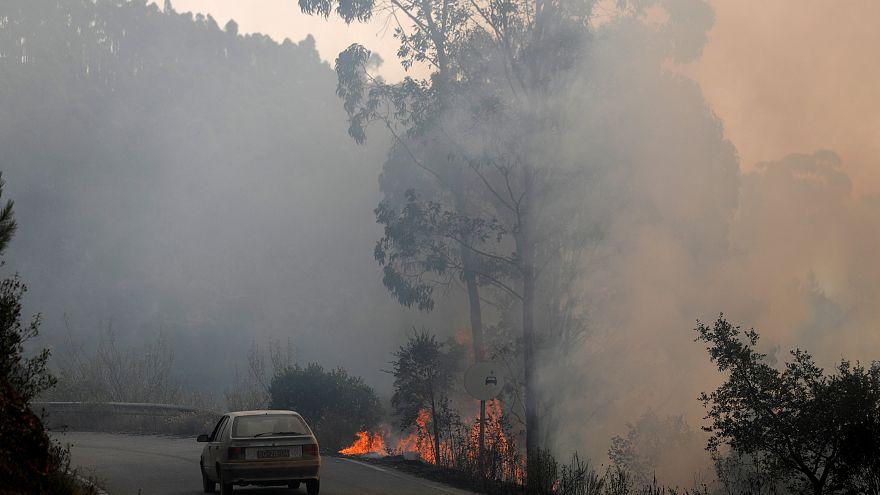 İspanya-Portekiz sınırındaki yangın söndürülemiyor