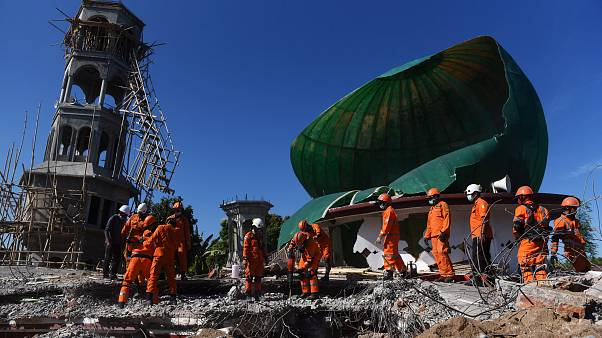 Séisme à Lombok : l'Indonésie recherche d'éventuels survivants