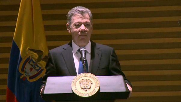 Santos se despide de los colombianos y quita hierro a las acusaciones de Maduro