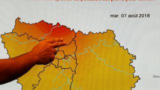 Аномальная жара привела к загрязнению воздуха в городах