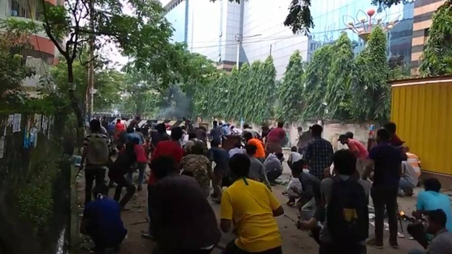 No resolution in sight as authorities crackdown on protests in Bangladesh   The Cube