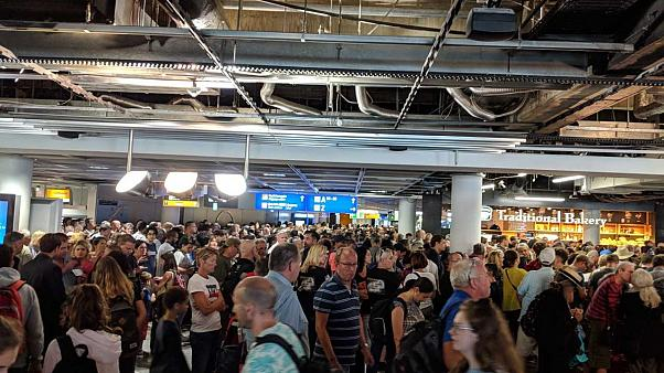 Chaos am Flughafen: Teilräumung von Familie aus Frankreich ausgelöst