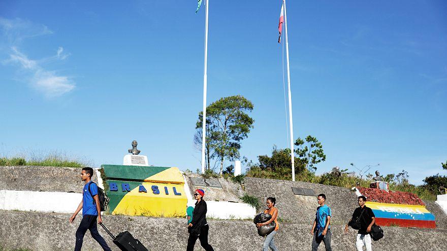 Brezilya Venezuela'dan göç edenlere yeniden kapıları açtı