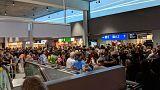 تخلیه بخشی از فرودگاه فرانکفورت در پی عبور غیرقانونی از حصارهای امنیتی